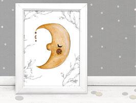 """Kinderbild """"Mond"""""""