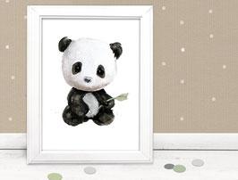 """Kinderbild """"Panda"""""""