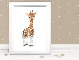 "Kinderbild ""Giraffe"""