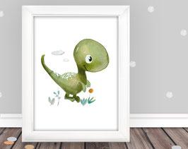 """Kinderbild """"Kleiner Dino"""""""