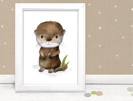 """Kinderbild """"Otter"""""""