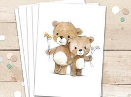 "Karten ""Teddys"""
