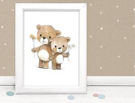 "Neu: Kinderbild ""Teddys"""
