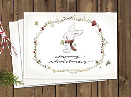 """Weihnachtskarten """"Christmas"""""""