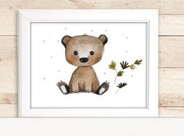 """Kinderbild """"Waldbär"""""""