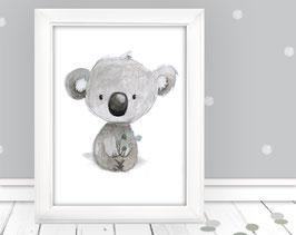 """Kinderbild """"Koalabär sitzt"""""""