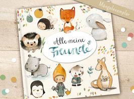 Freundebuch Mängelexemplar