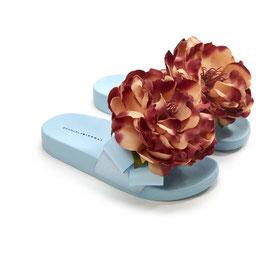 Ciabatte in PVC con Fiore