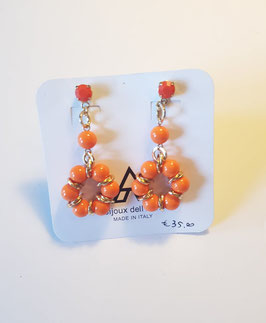 Orecchini Or01075 arancio