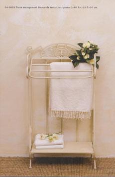Porta asciugami avorio da terra