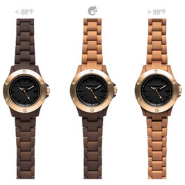 Kamawatch Dark Brown – Bronze color