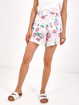 S2071407 Shorts Ternate con stampa floreale e vestibilità ampia