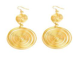 Orecchini due spirali