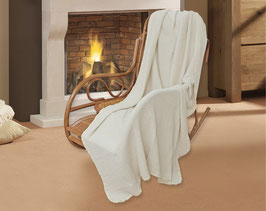 Linen Sofa Bed Chair Throw Blanket Cover: 200x130cm