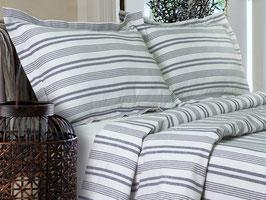 Bed Linen Set DOUBLE: 4 pcs (Duvet Cover, Flat Sheet, Two Pillow Cases)