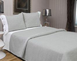 Bed Linen Set KING Linen: 4 pcs (Duvet Cover, Flat Sheet, Two Pillow Cases)
