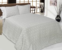 Bed Linen Set QUEEN Linen: 4 pcs (Duvet Cover, Flat Sheet, Two Pillow Cases)