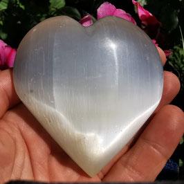 Selenit Handschmeichler Herz XL