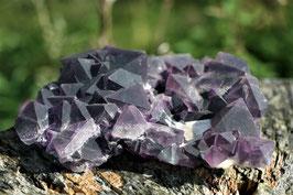 Wunderschöne violette Fluoritplatte