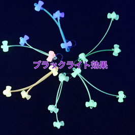 ナイトグロウ☆3Point ピアス