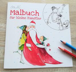Malbuch Weihnachten