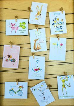 10er Postkarten-Set