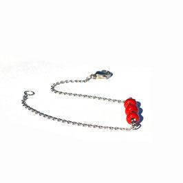 "Bracelet ""Trio"" Rouge"