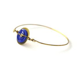 """Bracelet """"Pop"""" bleu électrique"""
