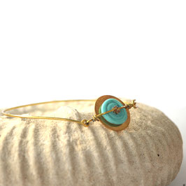 "Bracelet ""Pop"" Bleu ciel"