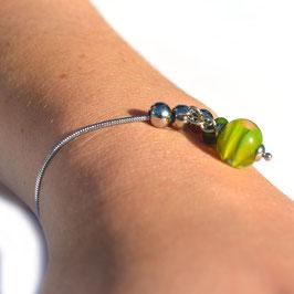 "Bracelet ajustable ""Pagode"" Anis"