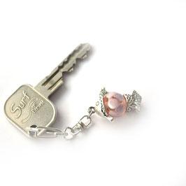 """Porte-clef """"Poisson"""" Rose"""