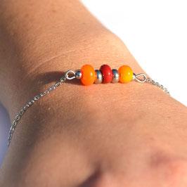 "Bracelet ""Trio"" Orange"