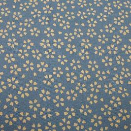 Tissu japonais : Petites fleurs de SAKURA GEO 3
