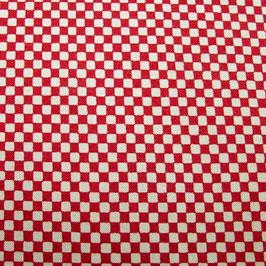 Tissu japonais : Motif damier ( Réf GEO2 )