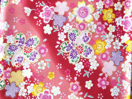 Tissus japonais : Sakura Kawaii - F2