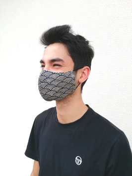 Masque en tissu japonais  : La forme bec de canard