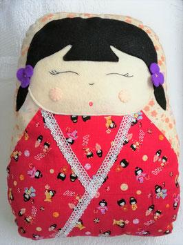 "Kit de coussin KOKESHI "" Sayaka """