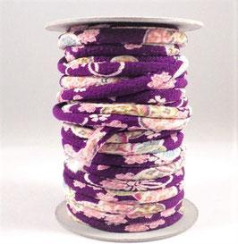 CORDON JAPONAIS 5mm : Violet AK