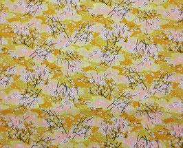 Tissu japonais : Fleur de petits SAKURA  F3