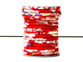CORDON JAPONAIS 5mm : Rouge AB