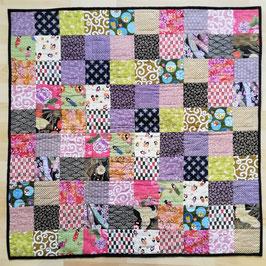 Kit de patchwork : Esprit du Japon (avec sélection de tissu en photo N°2 )