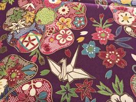 Tissu japonais : Grands motifs F15
