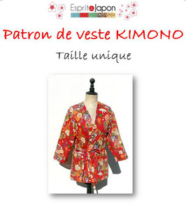 Patron de veste KIMONO