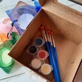 Ensemble de 6 ou 10 duos de barrettes à peindre, tout inclus!