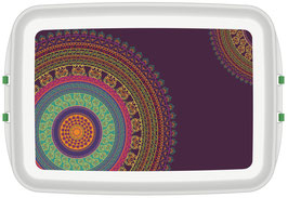 Lunchbox mit Druck - Mandala