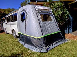 Hiace LWB 200 series tailgate tent w/h floor