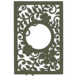 Decorative Leafy Frame Die - Stanzschablone