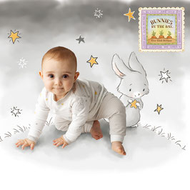 Bunnies By The Bay Bloom Twinkle Twinkle Set Up グレー☆9-12M