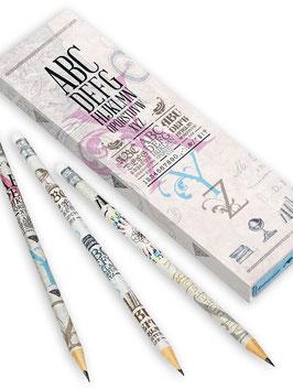 Bleistifte in Geschenkschuber ›Erlesen‹