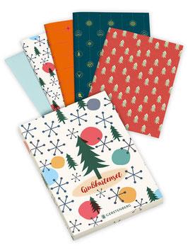 Grußkarten-Set ›Weihnachten‹